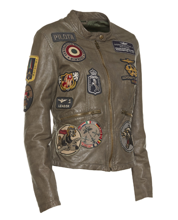 Aeronautica Militare leather jacket