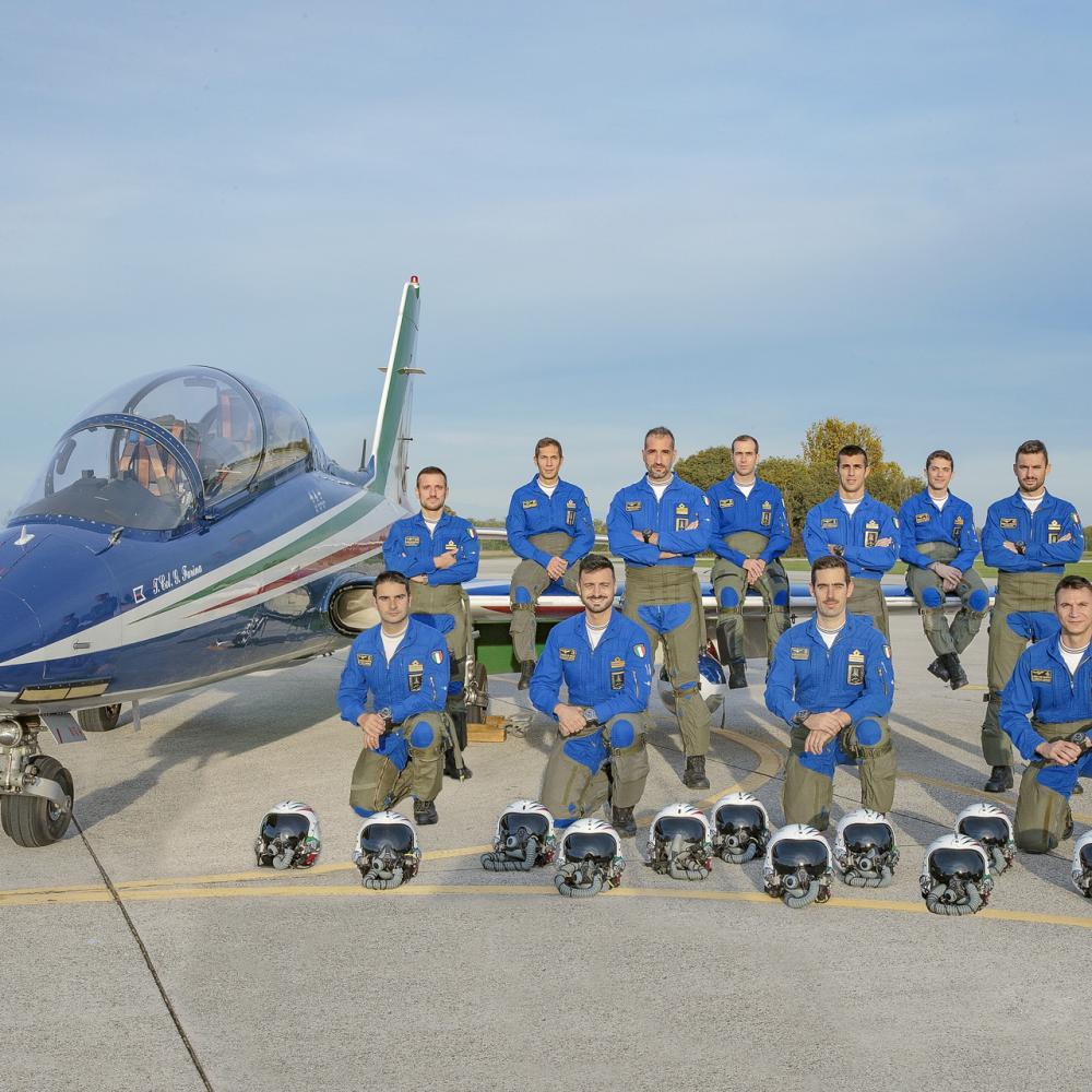 Piloti Frecce Tricolori 2021